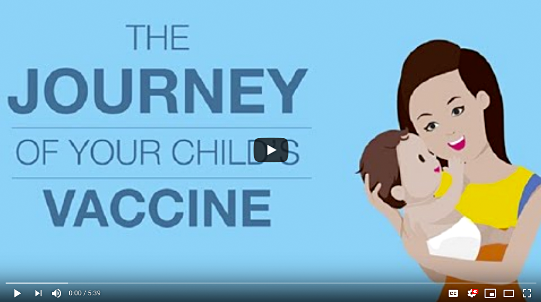 CDC's Journey of Child Vaccines
