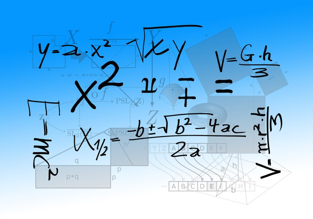 Scientific and mathematical equations